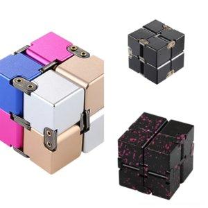 Lurhh Rubik의 큐브 어린이 창조적 인 퍼즐 2 By 2 By Rubik의 초보자 금속 감압 장난감 큐브 세 번째 주문 Rubik 's Cube Smooth