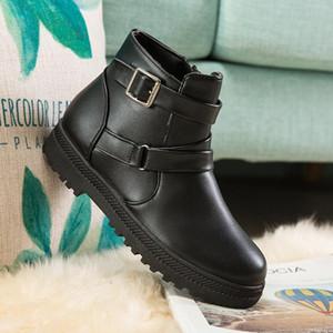 LCXMND Bottes imperméable Bottes de neige Femme en peluche hiver Femmes chaudes cheville Botas Mujer Chaussures Hiver Femme Taille plus