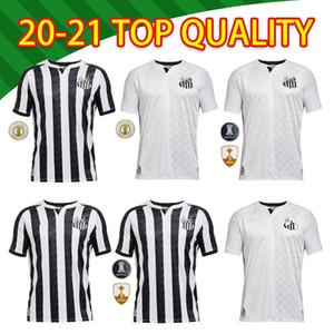 2020 Santos FC Futebol Clube Soccer Jerseys Santos Camisetas Cuevr Dodo RODRYGO SASHA Away football Hemd Kit MAILLOT FIND SIMILA