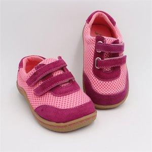 Tipsietoes Top Marca Primavera Moda Neto Deportes transpirable Zapatillas para correr para niñas y niños Zapatillas de deporte descalzos 201223