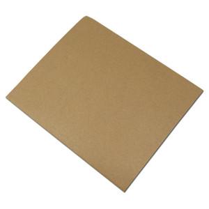 100 adetgrup 9 Boyutları Kahverengi Plastik Kraft Kağıt Yağsız Açık Üst Paket Çanta Ekmek Kızarmış Gıda Cipsi Ekmek Paketleme Kılıfı H SQCBAD