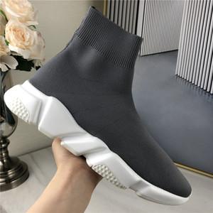 Beste Qualität Socke Geschwindigkeit Schuhe Schwarz Weiß Freizeitschuhe für Männer Oero Schwarze Turnschuhe Frauen Booties Turnschuhe Chaussures Mit Box36-45