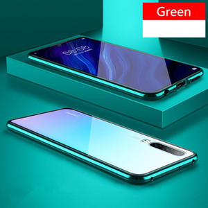 Новый магнитный поглощение металлический корпус для Huawei P20 P20PRO P20LITE телефон задняя крышка двухстороннего стекла Huaweip20 Pro Lite Bag H SQCJRT