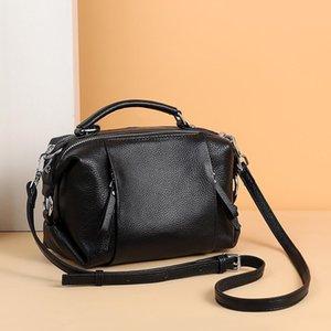 Bag 100% Leather Designer Fcnra Shoulder Handbag Bag High Quality Female Leather Real Crossbody Women Genuine Lxpdj