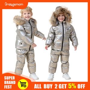 Orangemom 러시아 겨울 아동 의류 세트, 아이들 재킷 코트 파카 섣달 그믐 소년 눈 마모 LJ200929 다운 소녀 용 의류