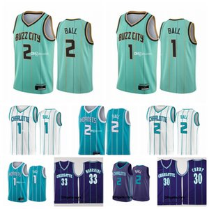 2 Lamelo Ball Jersey uomo vintage Vintage Muggsy Kid 1 Benaves Larry 2 Johnson 30 Curry Alonzo 33 Mourning 2021 City New Edition Maglie da baskey