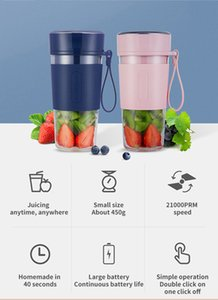Portable juicer Fruit Juicer Homemade in 40 Second Automatic Power off One-button Cleaning Milkshake Household Cooking Machine Electric
