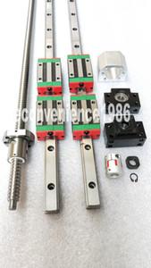 HGR20--2900mm lineare della guida 4 pezzi HGH20CA RM2505-2900mm ballscrewBF20 / BK2014 * Accoppiamento 17 millimetri