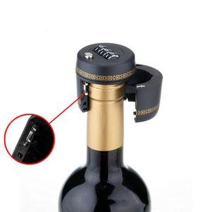 البلاستيك زجاجة كلمة السر قفل الجمع بين لوك النبيذ سدادة فراغ التوصيل المحافظة على جهاز إثبات الخمور النبيذ سدادة لAAF2780 الأجهزة