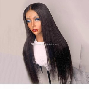 Silky Straight Silk Base Lace Front Human Hair Wig Brazilian 13x6 Deep Part Lace Wig With Baby Hairs