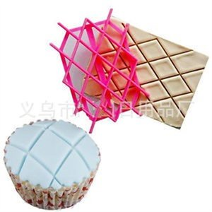 Diamond Mould Baking Check Pattern Die Printing Diy Cake Tools Art Embossing Biscuits Stamping Back Supplies Kitchen New 1 4hr K2