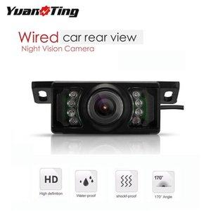 YuanTing Universal Car Rear View Camera IR Night Vision Waterproof HD Reversing Auto Backup Parking CAM For Car Stereo Monitor