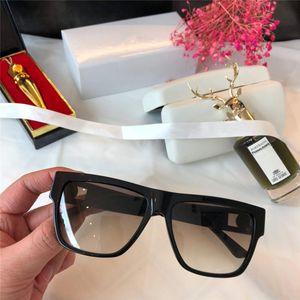 Neue 372-Frauen-Sonnenbrille Platz Top Platte machen Rahmen Modenschau Einfache populäre Art UV 400 Outdoor-Gläser Top-Qualität mit Uhrgehäuse