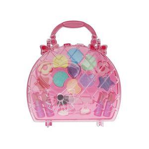 Kinder-Make-Up-Spielzeug-Set Pretend Play Princess Pink Makeup Beauty Sicherheit Ungiftiger Kit Spielzeug für Mädchen Dressing Kosmetische Mädchen-Geschenke