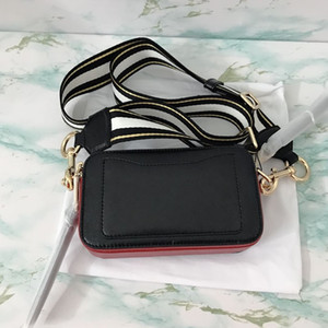 2020 fashion Color Wide Shoulder Strap Flap Handbag Retro Tassel Saddle Square Hand Bag Shoulder Bag Messenger Crossbody Zip Handbag
