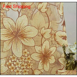 Fashion Floral Tulle Door Window Curtain Drape Sheer Home Decorative Curtains Home Decor Curtain qylgCb lyqlove
