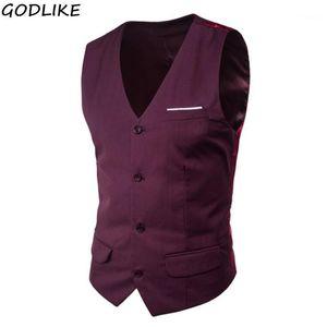 Men's Vests Mens Slim Fit Suit Vest 2021 Men Foramal Weeding Dress Waistcoat Man Gilet Business Wedding Tuxedo Colete Masculino1