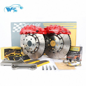 KOKO RACING using cars brake system WT8520 brake kit 6 pot caliper 18 inches front wheel for Kia Stinger (GT) U3gW#