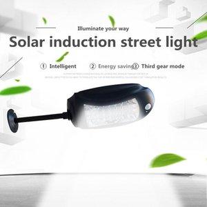 Solar Led iluminação exterior impermeável 32led Jardim lâmpada acende luz movimento Segurança Rodoviária Lâmpada de parede Sensores Solar de emergência com controle remoto