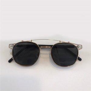 Alio Nouveau Populaire Protection UV 400 pour hommes Vintage Cadre rond Fashion Top Qualité Venez avec étui Lunettes de soleil classiques