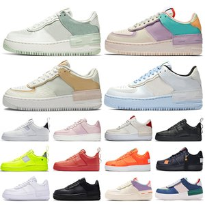 airforce nike air force 1 shadow forces one shoes Pistachio Frost Mens Women Platform Casual Shoes Shadow Tropical Twist Spruce Aura triple white black trainers sports sneakers