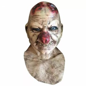 Halloween Party Cosplay Zombie Horror Mask Cos Ghost Mask Horror Adult Scary Latex Costume Theater Prop Masks For Party Birthday Decoration