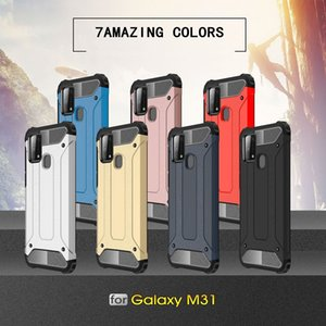 Dual Layer TPU+PC Hybrid Robot Combo Case for Samsung Galaxy M31s M51 M01 Core A01 M31 M80s M60s M30s M30 Hard Back Cover