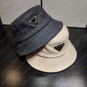 Cashmere Bucket bonés Mulheres Homens bonés Luxurys Designers Caps Cloche Beanie Beanie Cappelli Firmati Winter Hat Cap Mütze Gorros 20122202L