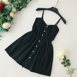 Chic Sling Playsuits Sólido Soltero Breasted High Cintura Holidays Casual Corto Rampes Stretchy Waist Jipters1