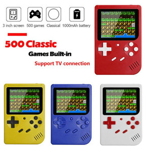 500 IN 1 Retro Handheld Game Handheld Games Console Player Progress Save Load MicroSD card External