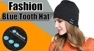 Bluetooth Music Soft Warm Beanie Hat Cap with Stereo Headphone Headset Speaker Wireless Mic Hands-free