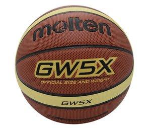 tamaño de baloncesto fundido original de 7 fundido baloncesto tamaño 6 pelota de baloncesto Molten PU Material Size7 Oficial / tamaño 6/5