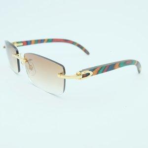 النظارات النظارات خمر هومبر Ocio Sin Montura Decoracin Color Sol Marca مهرجان Gafas Nombre Cuadrados La Carter Wayfarer Kigct
