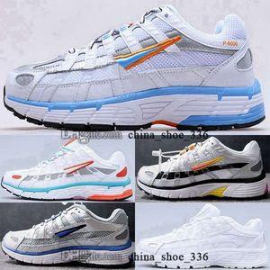 palestra formatori giovani mens p 6000 di formato US 45 scarpe da tennis casuali EUR 11 donne calza 35 moda p-6000 cnpt 5 chaussures uomini in esecuzione tripler nero