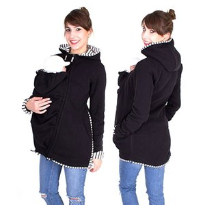Pregnant Kangaroo Tops For Long Hoodies Clothing Women Sleeve Carrier Baby Maternity Winter Clothes Ehrek