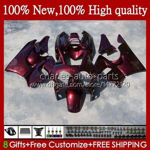 Body For HONDA CBR 893RR 900RR CBR900 CBR893 900 893 CC RR wine red hot 95HC.006 CBR900RR 1994 1995 1996 1997 CBR893RR 94 95 96 97 Fairings