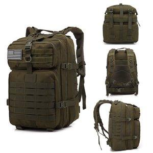 50L Grande borsa tattica tattica zaini tattici sacchetti d'assalto all'aperto 3P molle pack per il campeggio da trekking da caccia borsa all'aperto