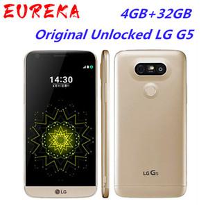 "Original Unlocked LG G5 Quad Core Mobile Phones 4GB RAM 32GB ROM Display 5.3"" QHD IPS 16MP Fingerprint FDD LTE Smartphone"