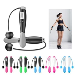 Cuerdas de salto inalámbrico Smart Electronic Digital Skip Omitir Cuerda de Calorie Consumo Fitness Body Body Ejercicio Jumping Rope