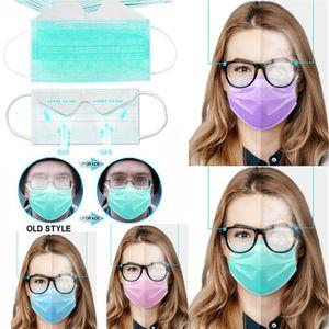 Anti Fog usa e getta la maschera di protezione a 3 strati della maschera di protezione e la salute personale maschera con maschere Earloop Bocca Volto sanitari
