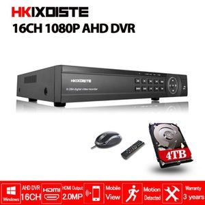 16 Channel AHD DVR 1080P DVR 16CH AHD AHD-H 1920*1080 2.0MP CCTV Video Recorder NVR CVI TVI HVR 5 In 1 Security System