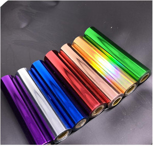 80m / rouleau d'or argent pare-oreille papier feuille de papier rouleaux de papier pour stratification de plastifiant transfert de chaleur sur imprimante laser Carte de bricolage CRA QIMIMP