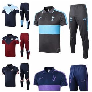 Manchester City Tottenham 20 21 футбол с коротким рукавом спортивный костюм Футбол Survetement Майо De Foot костюмы футболки беговые костюмы # 6315781