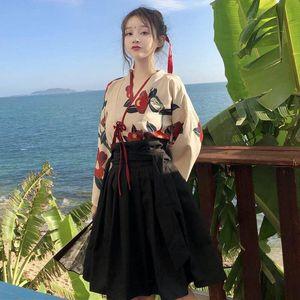 Traditional Chinese Women's Dresses Hand-in Dresses,Hanfu Dresses, waist-length Crane Printed Straight Sleeves, Chinese Women's Hanfu Gradua