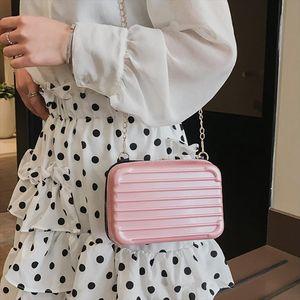 Trunk Box Small Women Shoulder Bags Designer Crossbody Bag Strap Messager Bags Mini Phone Case Fashion Purse Lady