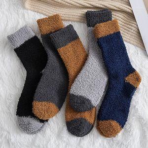 Inverno Wamer Socks Donne Addensare lana termale Cashmere Snow Socks Stivali senza soluzione di continuità Stivali Stivali Stivali da letto per dormire per mens R21
