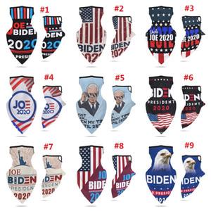 Sports Cycling Face Scarf Earring US Presidential Election Biden Mask Multi-functional Biden Headscarf Joe Biden