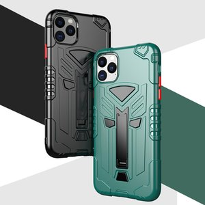 Luxury new Military Rugged Armor TPU Phone Case Shockproof Stand Holder Back cover For iPhone 11 Pro xs Max