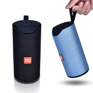 Hot Selling TG113 Wireless Bluetooth Speaker Portable Outdoor Music Player Cylindrical High Quality TG113 Wireless Speaker Free Shipping