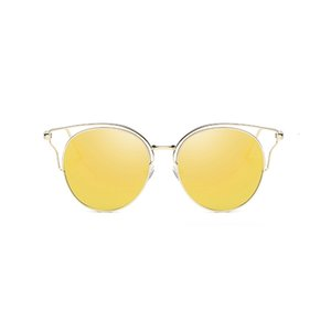 UANVIEW (óculos de sol de Uanview Women New Moda Pollarized Metal Colorido Sunglasses WD0874
